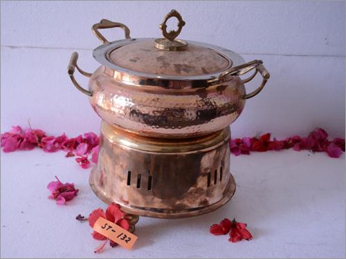 Royal Brass Chef Dish Warmer