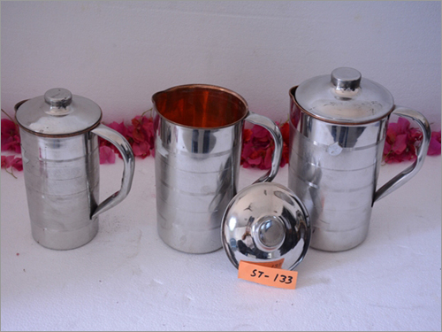 Steel Brass Water Jug