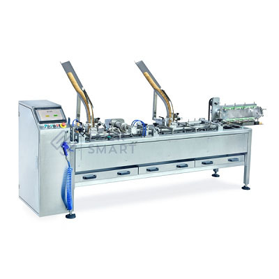 Combined Biscuit Sandwiching & Packaging Machine