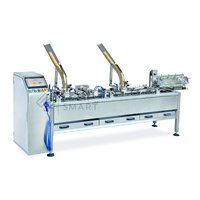 Single Lane Biscuit Sandwiching Machine with Packaging