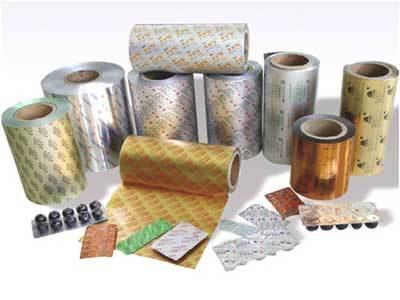 Pharma Aluminium Foil Printing Services