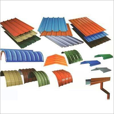 Colour Coated Sheet For Roofs