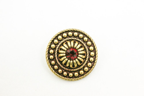Swarovski button