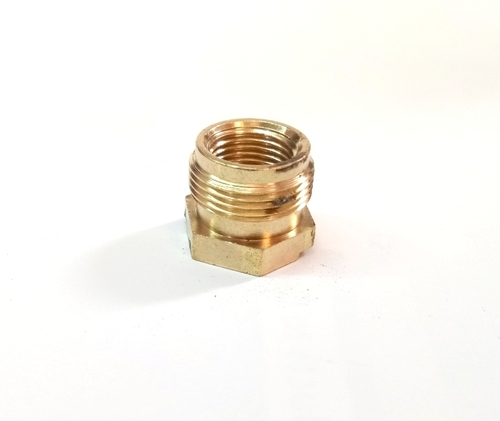 Brass Lighting Male Female Nut