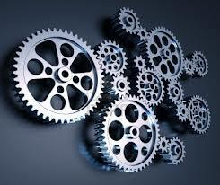 Laboratory Inter Connected Gears