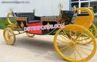 Royal Victoria Horse Buggy Carriage