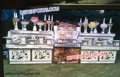 Indian Wedding Buffet Counters Food Stalls