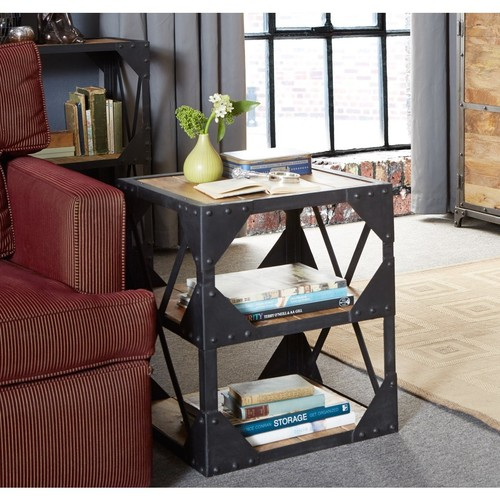 Side Table Multimedia Cabinet