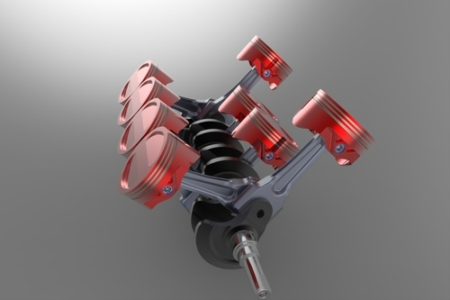 Laboratory Crank & Connecting Rod Model
