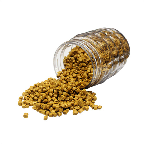 Yellow Plastic Granules