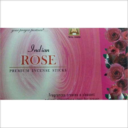 Indian Rose Premium Incence Sticks