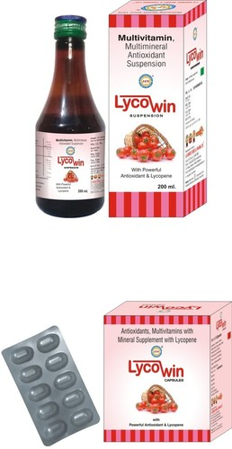 Antioxidant Syrup with Lycopene