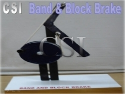 Laboratory Band and Block Brake
