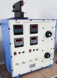 Calibration test bench apparatus for MCB