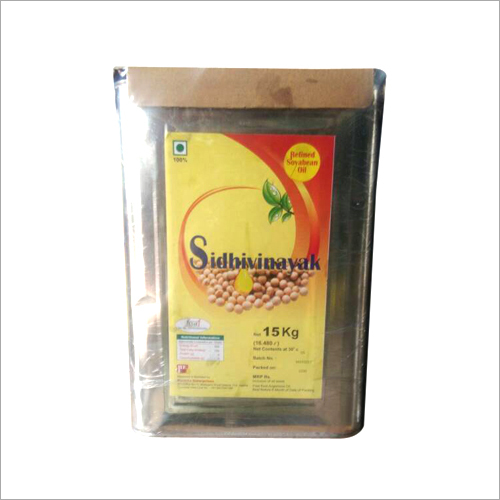 Soyabean Refined Oil (15kg Tin)