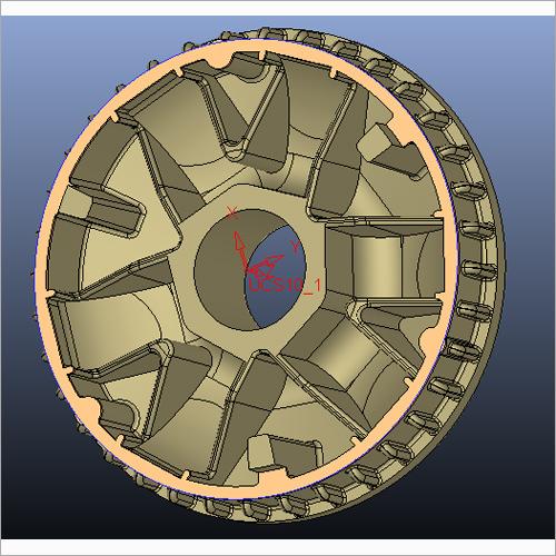 Activa Engine Al Part Mould
