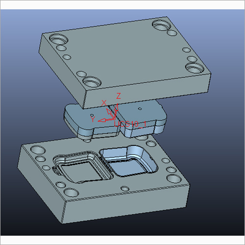 Lunch Box Plastic Mould
