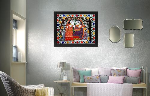 Mithila Woman Paintings