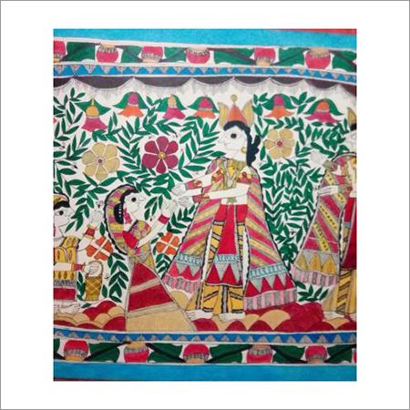 Krishna & Radha Painting