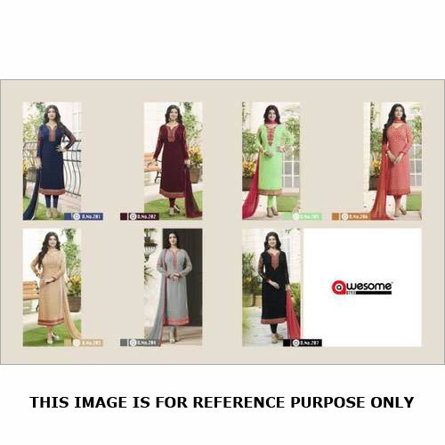 Straight Salwar Kameez (Awesome Style)