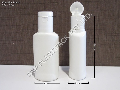 20 ml Flat Bottle