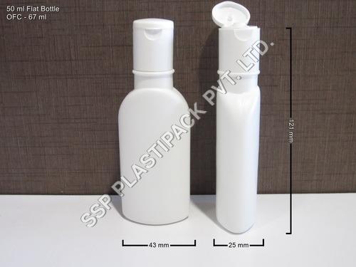 50 ml Flat Bottle