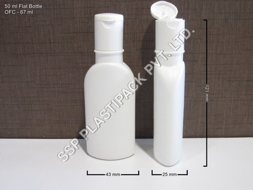 50 ml Flat Bottle