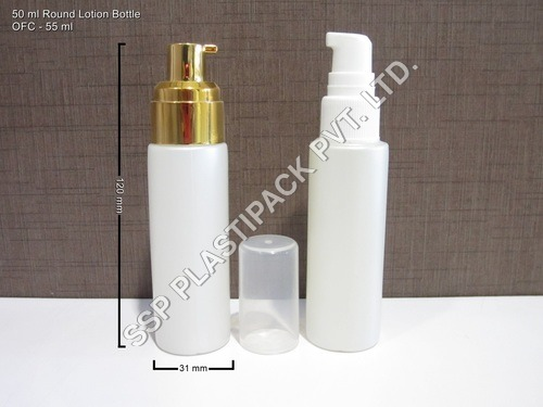 50 ml Round Lotion Bottle