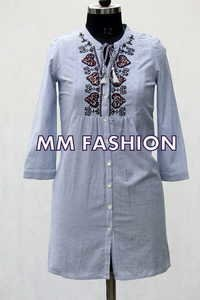 EMBROIDERED TUNICS