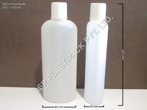 500 ml Flat Bottle