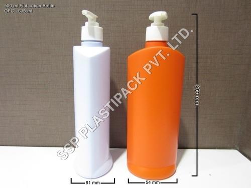 500 ml Flat Lotion bottle