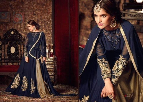 Shop Lehanga Style Long Suit For Eid Online