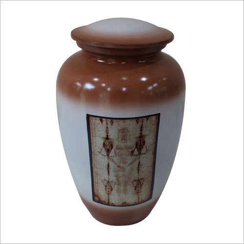 Egyptian Print Cremation Urn