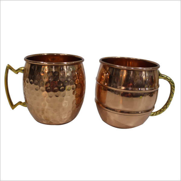 Copper Mug Set
