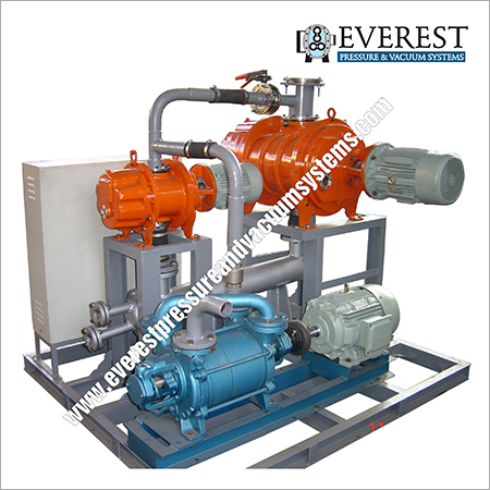 Water Ring Vacuum Pumping System