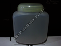1 Kg Square Jar