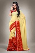 Georgette printed sarees catalog 2007-2017 catalog
