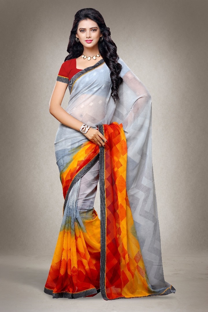 Buy cheap printed saree new designs surat catalog dealer