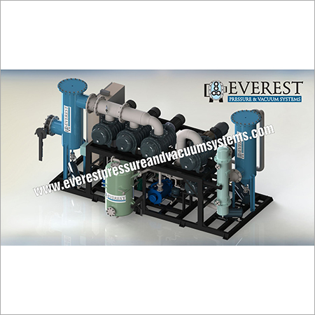 Vacuum System for Waste Oil Rerefining