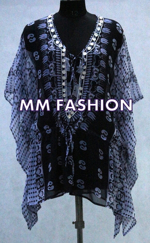 PRINTED FANCY KAFTAN