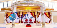 Traditional Fiber Round Mandap