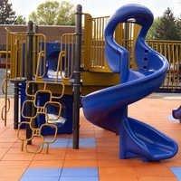 Children's Play Area Rubber Tiles