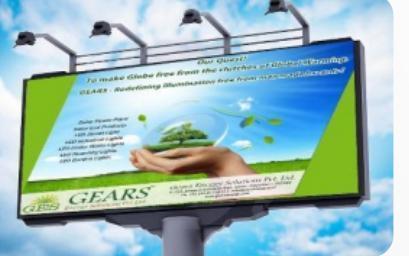 Advertising Display Board