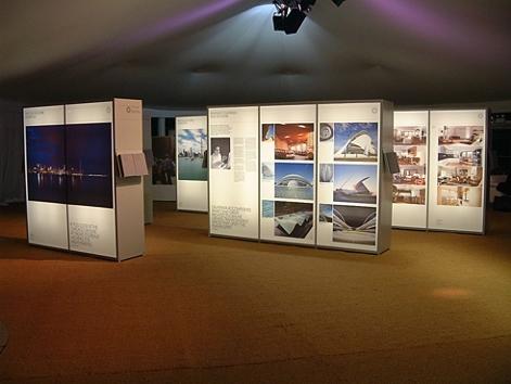 Exhibition indoor advertising
