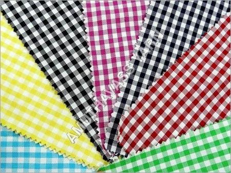 Cotton Dyed Yarn Fabrics