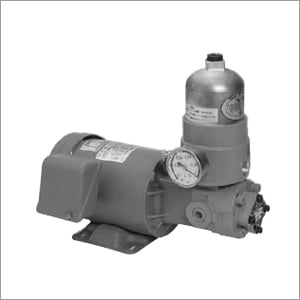 Trochoid Pump with suction filter