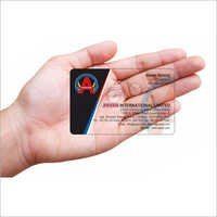 Arpan Transparent Card