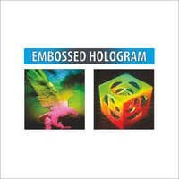 Embossed Hologram