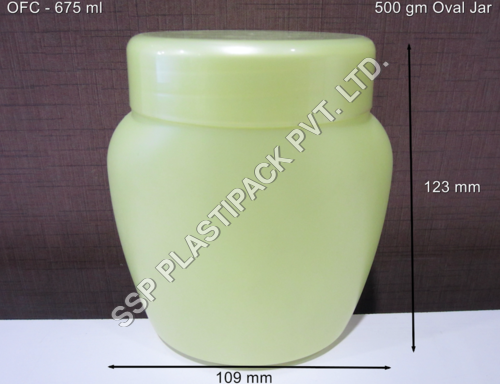 500 gm Oval Jar