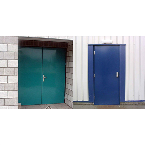 Acoustic Metal Doors